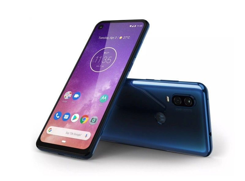 Motorola P50 Press Render