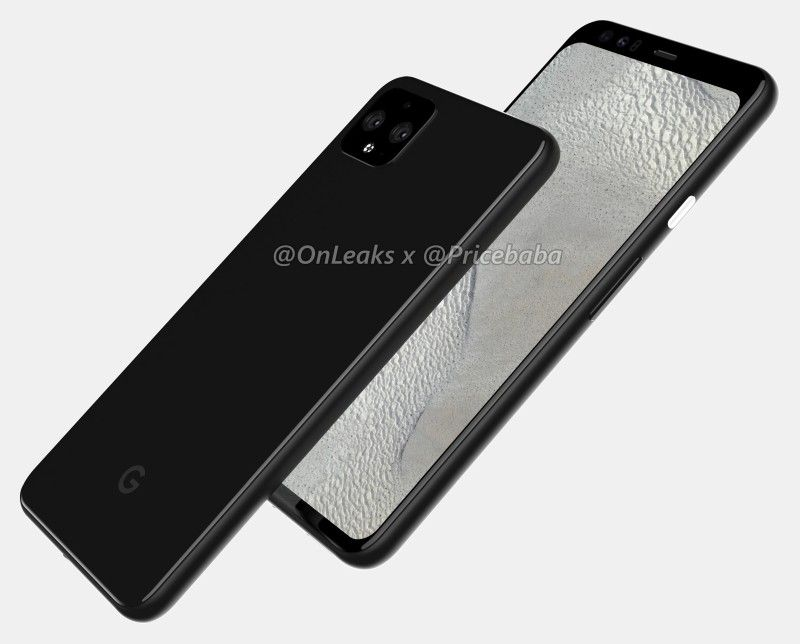 Pixel 4 XL Leaded Render