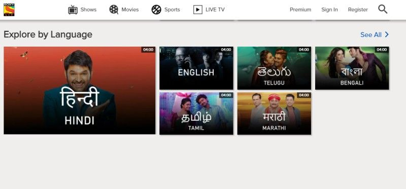 SonyLIV Hits 100 Million Downloads on Play Store, Third Indian Video
