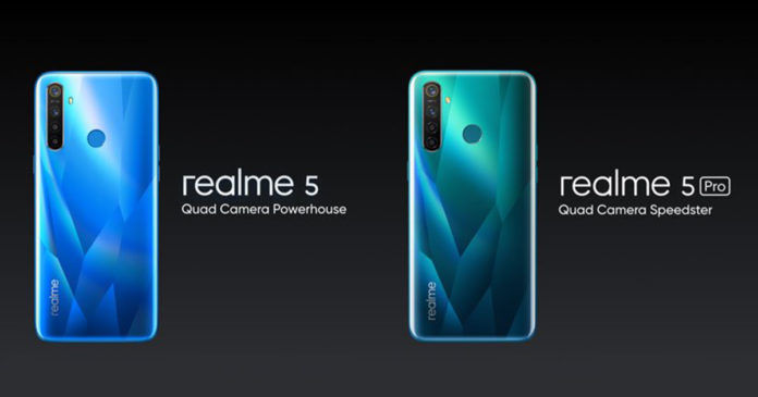 Realme 5 and Realme 5 Pro Launched in India with Quad Cameras: Price,  Features - MySmartPrice