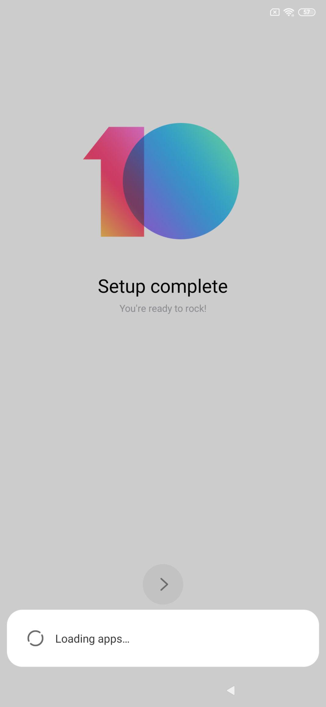 Redmi K20 Pro Software Screenshot
