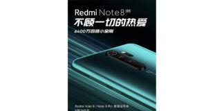 Xiaomi Redmi Note 8 series launch poster