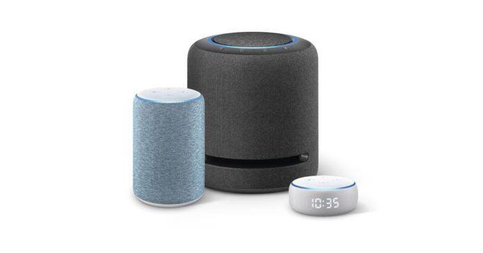 Amazon Echo Dot With Clock, Echo 3rd Generation, Echo Studio
