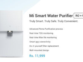 Mi Smart Water Purifier launched in India poster