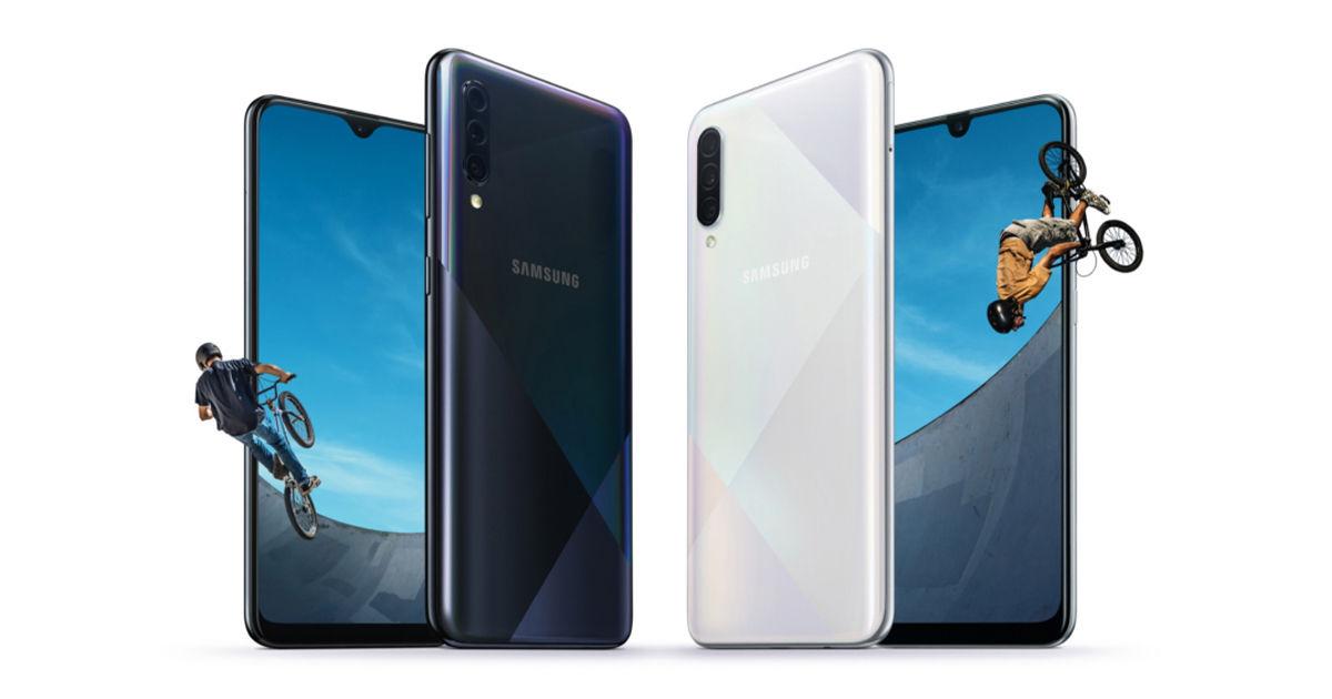 Samsung Galaxy A30s and Samsung Galaxy A50s