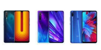 Vivo U10 vs Realme 5 vs Redmi Note 7