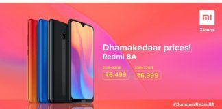 Xiaomi Redmi 8A India Launch Price