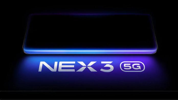 Vivo Nex 3 5G teaser