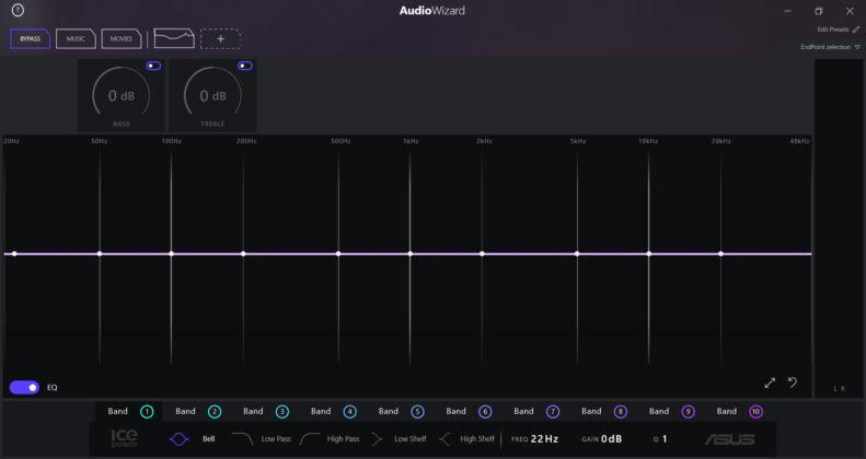 ASUS ZenBook Duo UX481FL - Audio Wizard