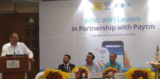 BSNL Paytm Partnership WiFi Hotspot Onbarding Service