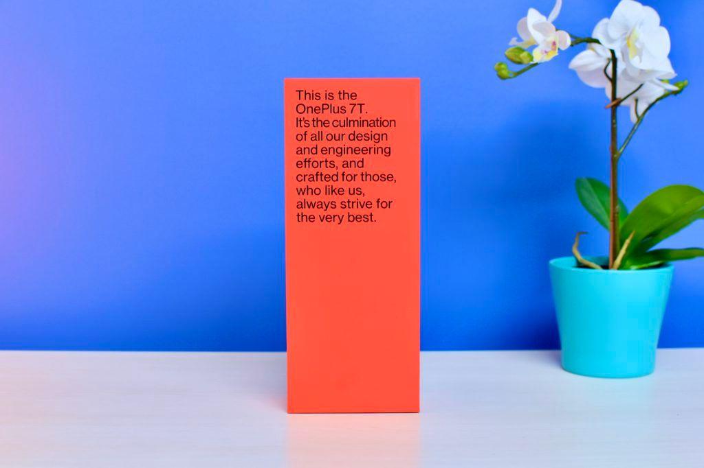 OnePlus 7T Box