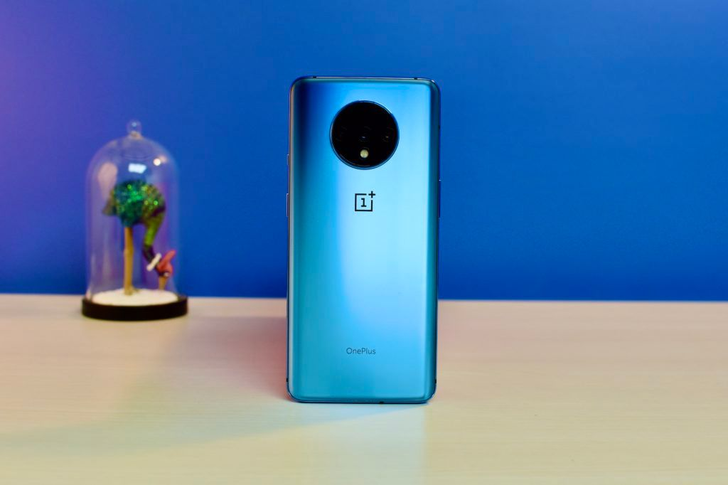 OnePlus 7T Rear Design Frosted Glass