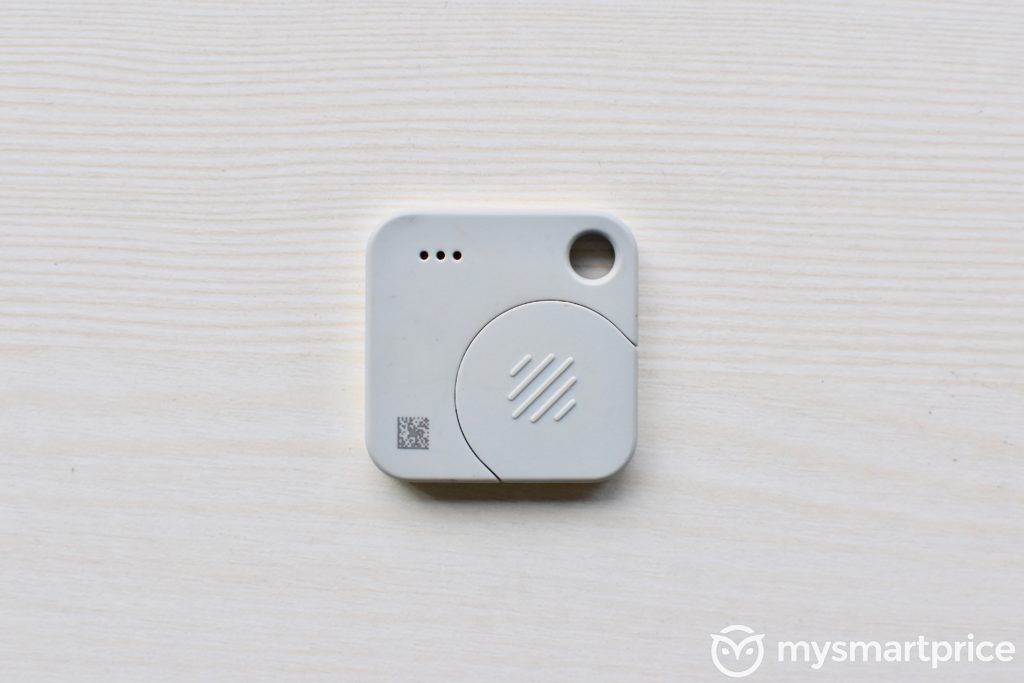 Tile Mate Bluetooth Tracker Rear Design Battery Compartment