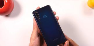 Vivo U10 Feature Fingerprint Reader Rear Design