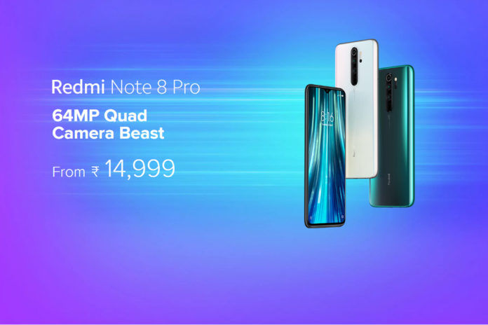 Xiaomi Redmi Note 8 Pro (Along with Indian pricing)