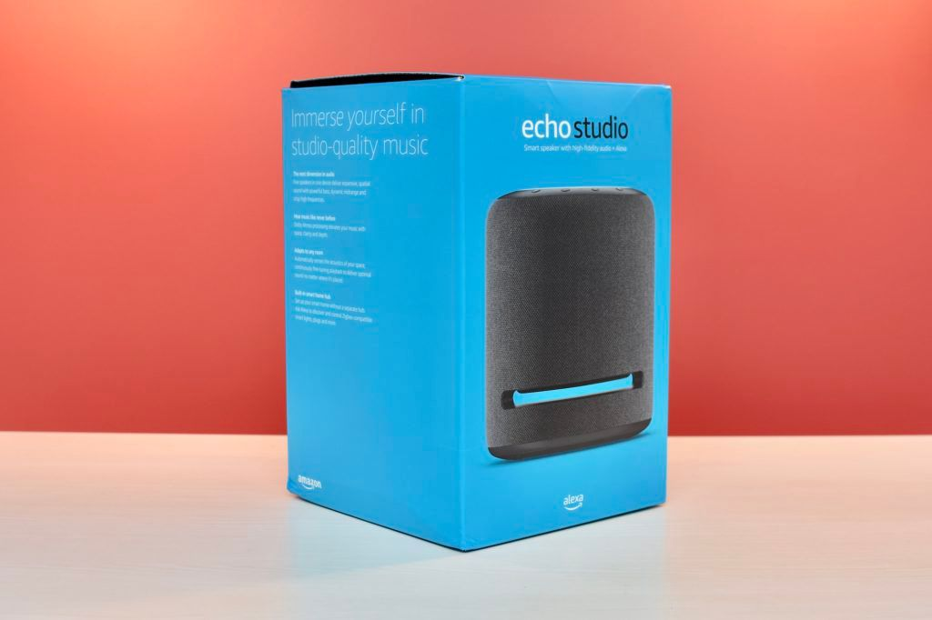 Amazon Echo Studio Box
