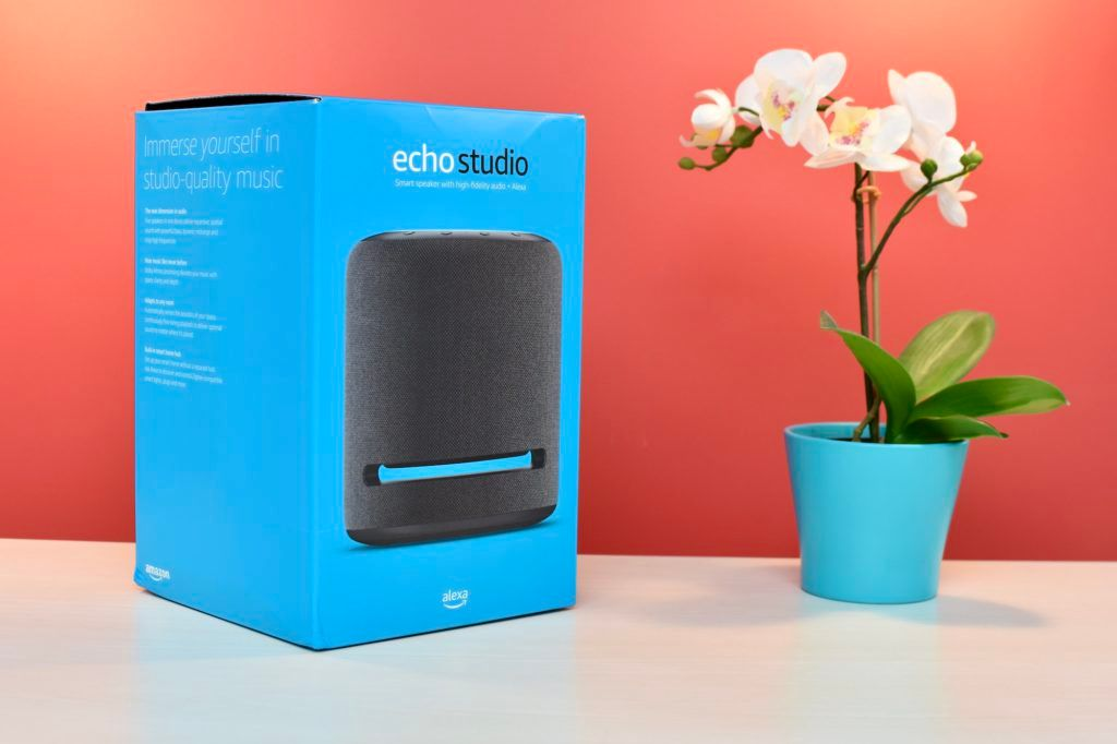Amazon Echo Studio Box Design