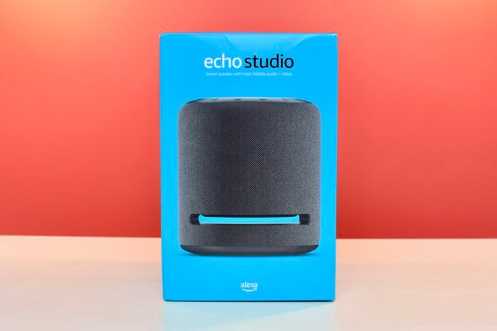 Amazon Echo Studio Box Package