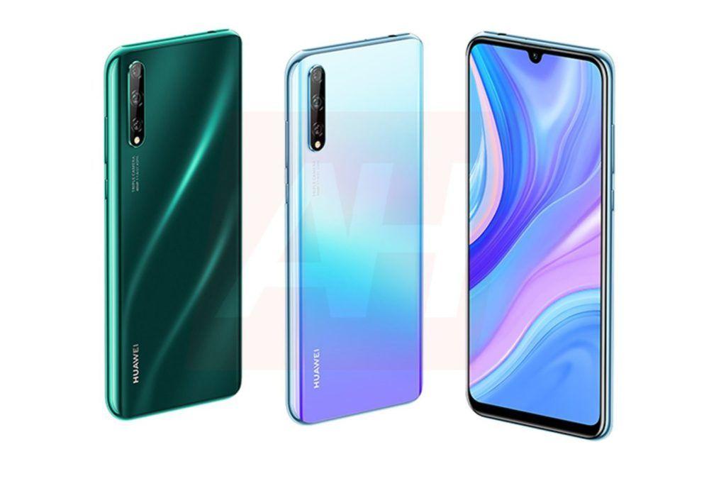 Huawei P Smart 2020 alleged render image