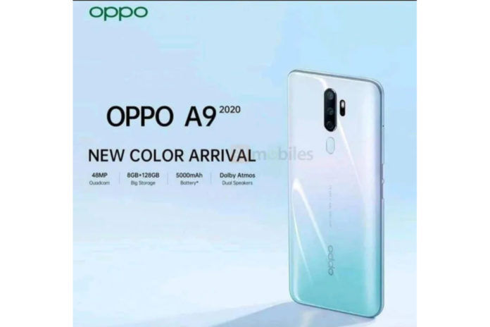 Oppo A9 2020 Gradient White Teal color variant launched in India