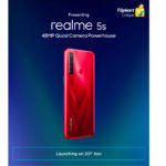Realme 5s dedicated teaser page on Flipkart