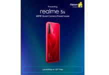 Realme 5s dedicated teaser page on Flipkart