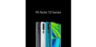 Xiaomi Mi Note 10 series (Mi Note 10 and Mi Note 10 Pro)