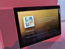 spotify behind the lyrics feature for smart displays