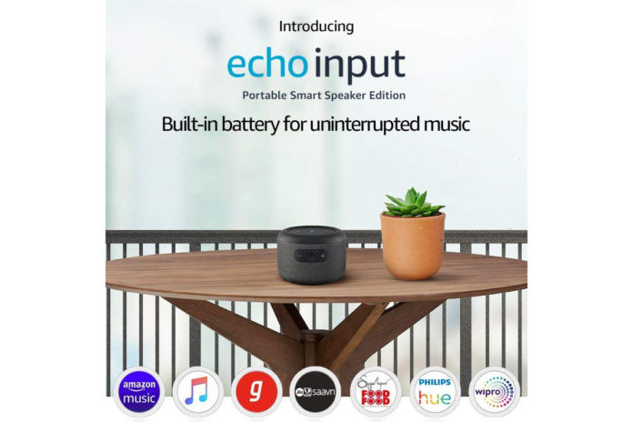 Amazon Echo Input Portable Smart Speaker