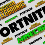 Fortnite Minecraft PUBG Logo