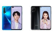 Huawei Nova 6 and Nova 6 SE