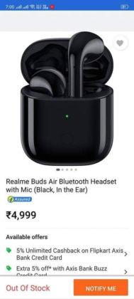 realme buds wireless price