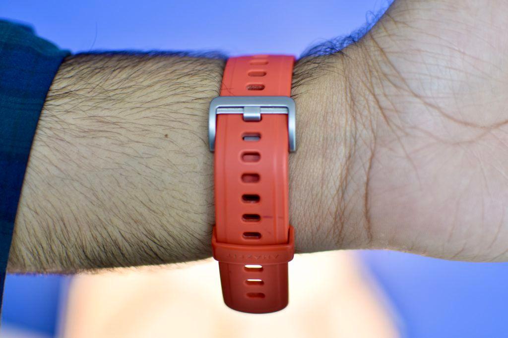 Amazfit GTR Red Silicon Strap