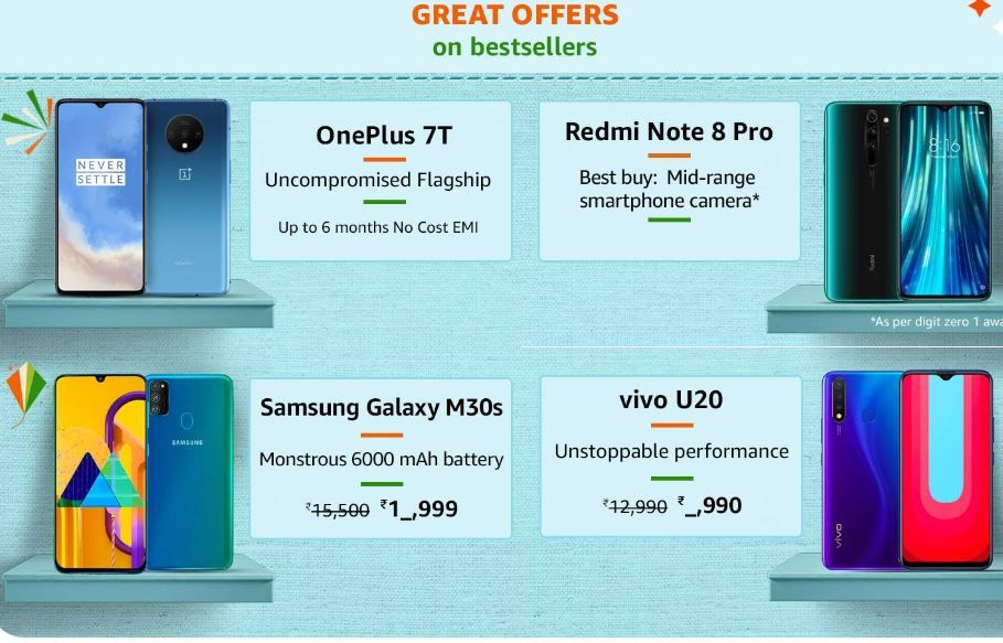 Amazon Great Indian Sale 2020 Begins 19th January 10 Sbi Card