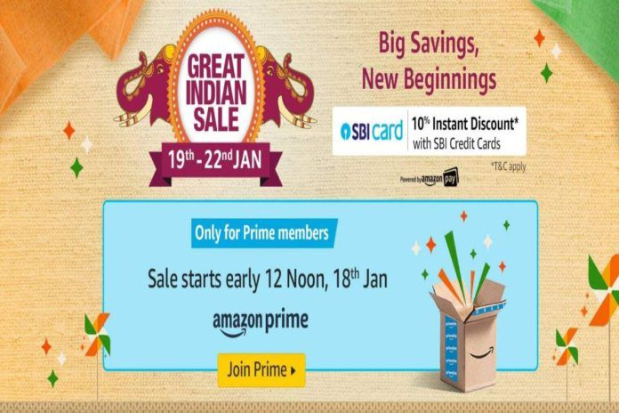 Amazon great Indian sale 2020 featured