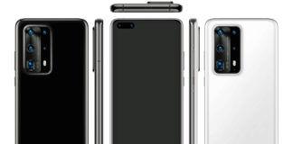 Huawei P40 Pro Premium Edition leaked render image