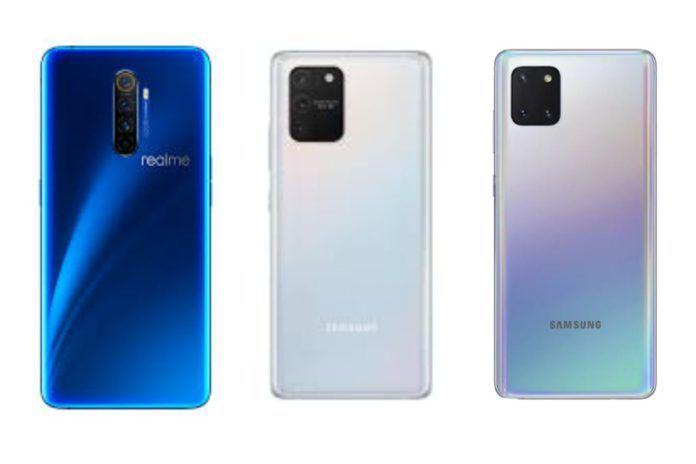 Samsung galaxy s10 lite VS Samsung galaxy note 10 lite VS realme x2 pro
