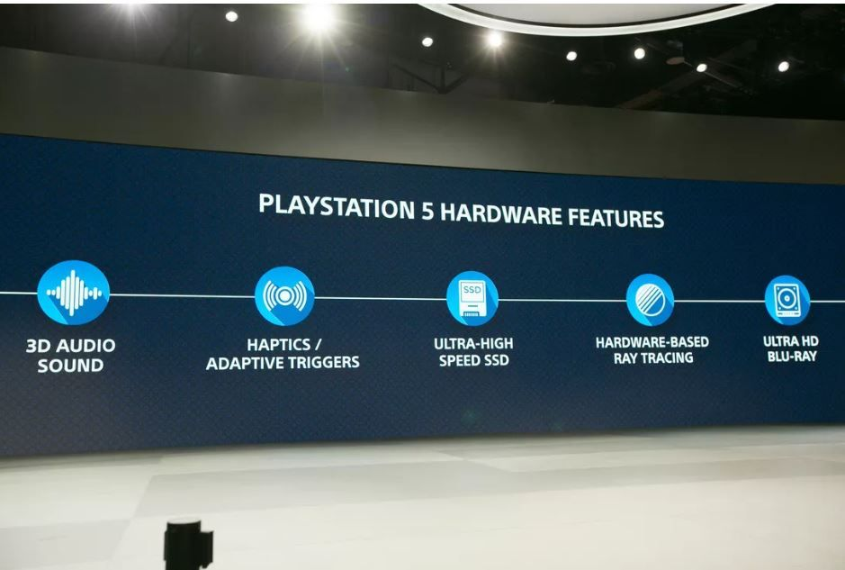 Sony PlayStation 5 specifications