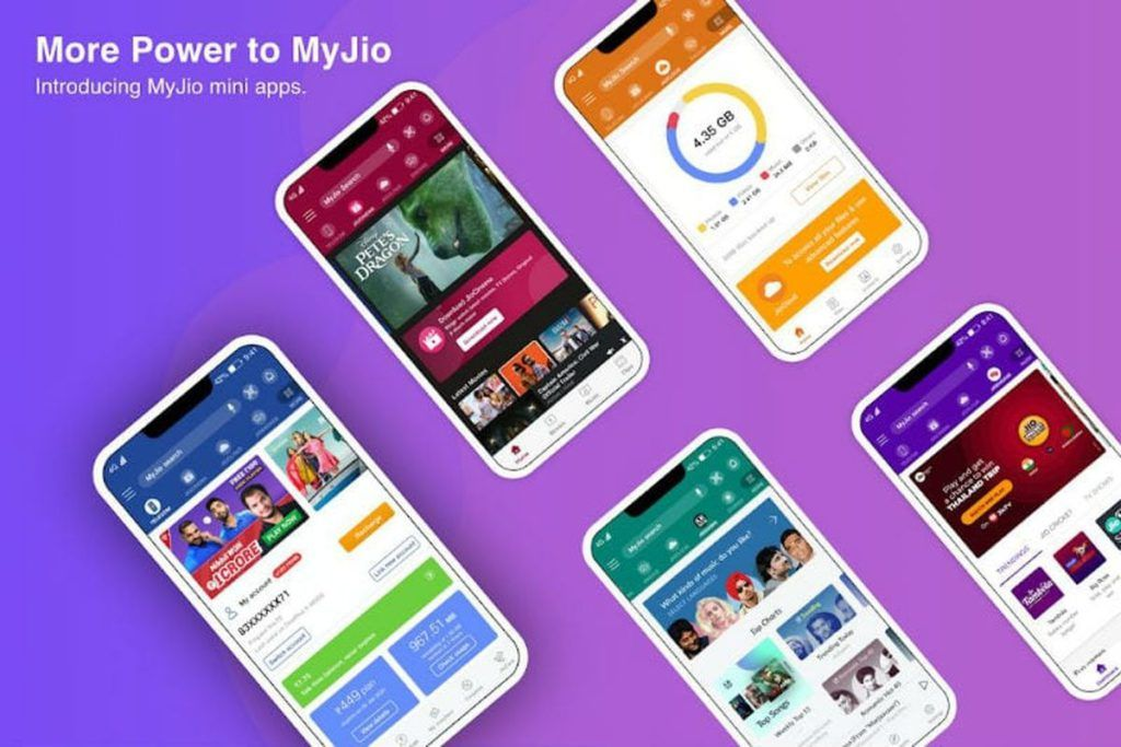 My Jio App Now Offers Jiocinema Jio Tv And More Services Through Jio Mini Apps Feature Mysmartprice