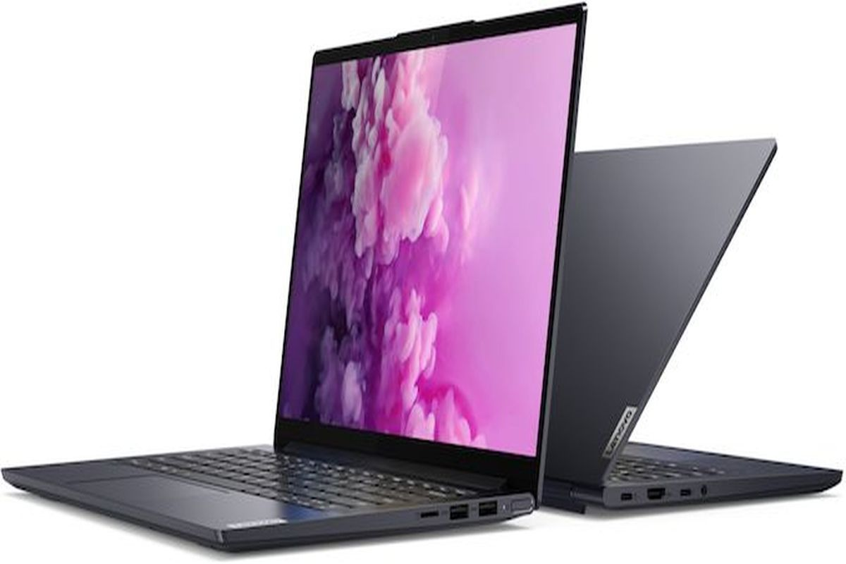 Ces 2020 Lenovo Unveils Yoga Slim 7 14 Inch Laptop With Amd Or Intel Cpu Options Thinkbook Plus Laptops Mysmartprice