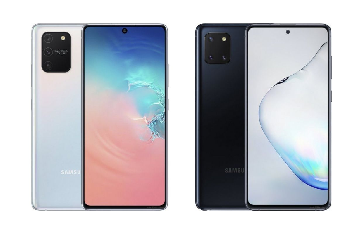 Samsung Galaxy Note 10 Lite, Galaxy S10 Lite Go Official
