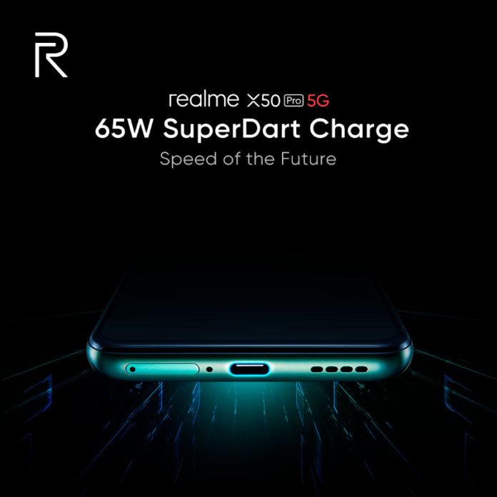 realme x50 pro 65w superdart