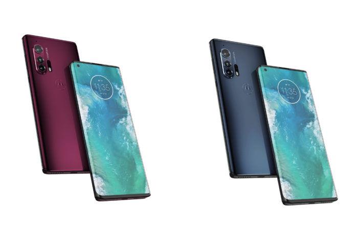 Motorola Edge+ renders