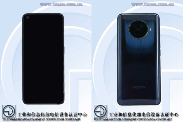 Oppo PDHM00 (Possibly Reno Ace 2) certification image