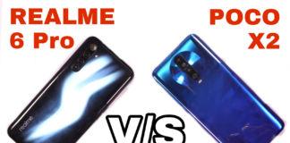 Realme 6 Pro vs Poco X2