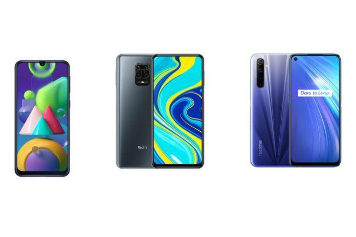 Samsung Galaxy M21 vs Redmi Note 9 Pro vs Realme 6