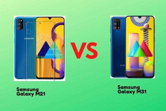 Samsung galaxy m21 vs Samsung galaxy m31