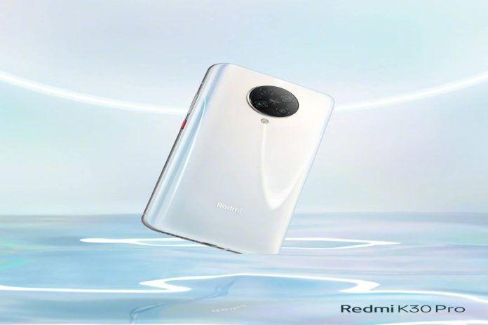 redmi k30 pro white color variant (1)