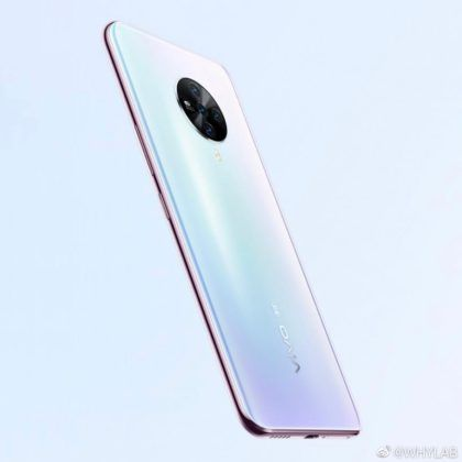 vivo s6 5g leaked hands on image