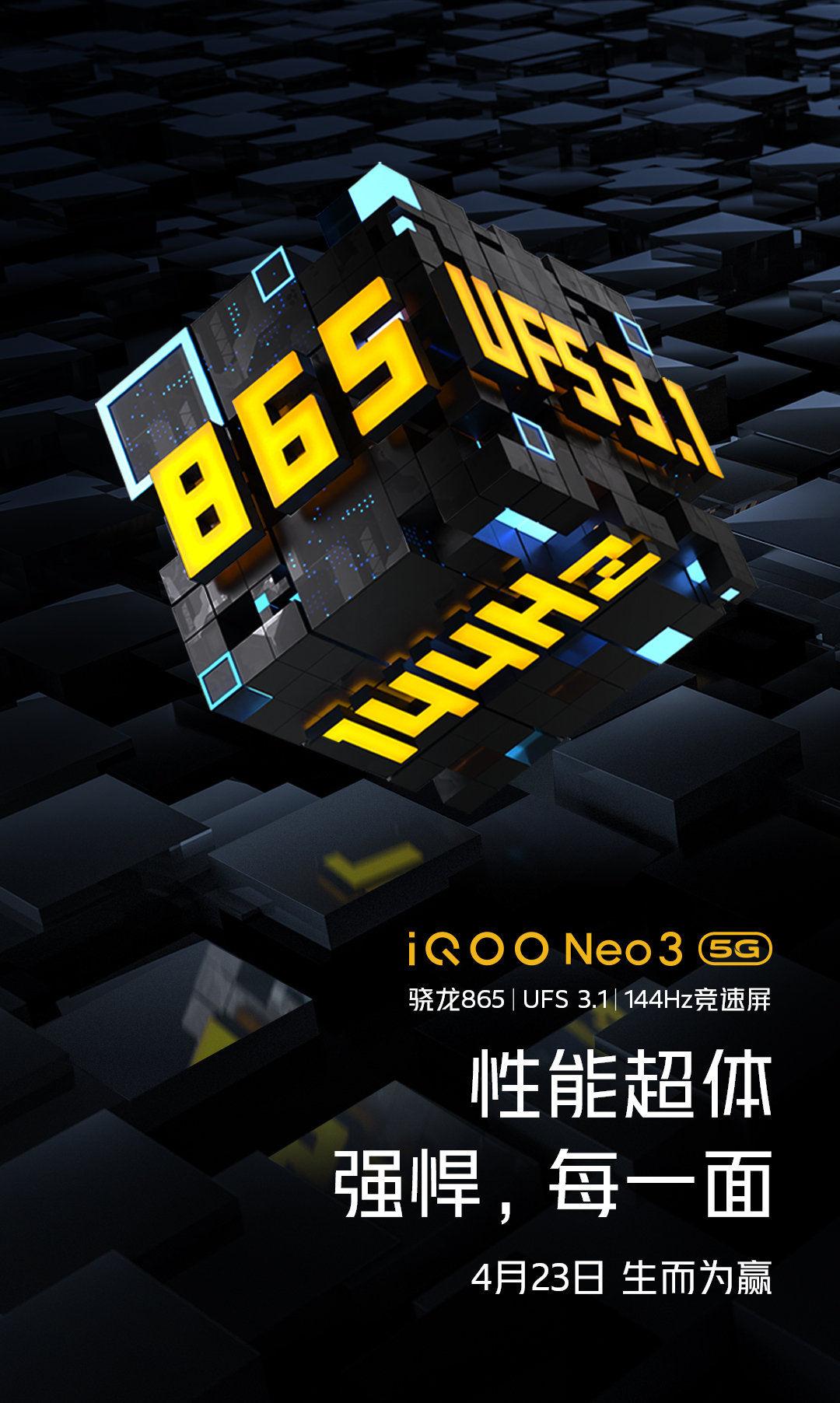IQOO Neo 3 Poster